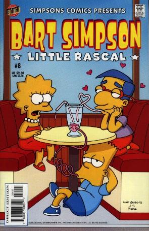 Рекламные средства, обложки - Bart Simpson German-8. Обложки, рекламные...